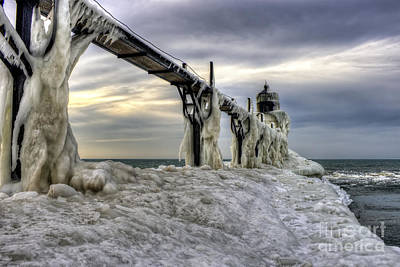 Photograph - Frozen by Scott Wood
