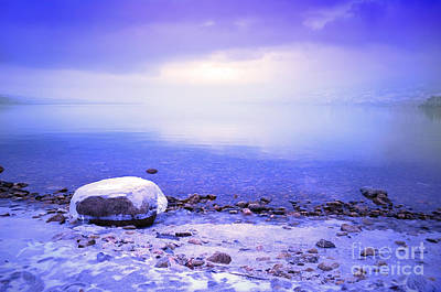 Photograph - Frozen Stones by Tara Turner
