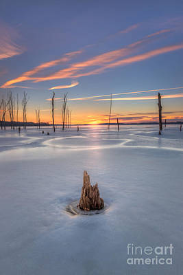 Frozen Sunrise Original by Michael Ver Sprill