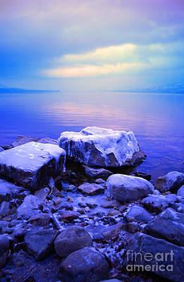Photograph - Frozen Sunrise by Tara Turner
