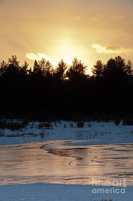 State Love Nancy Ingersoll - Frozen Sunset by Cheryl Baxter