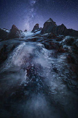 Milky Way Wall Art - Photograph - Frozen Time by Chris Kaddas