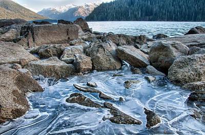 Polaroid Camera - Frozen View by James Wheeler