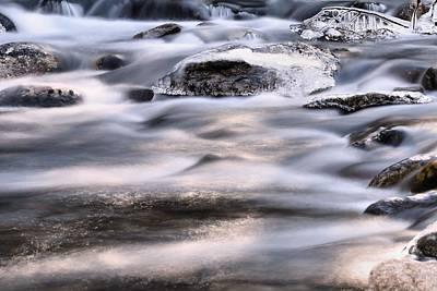 Photograph - Frozen Waters by Carol Montoya