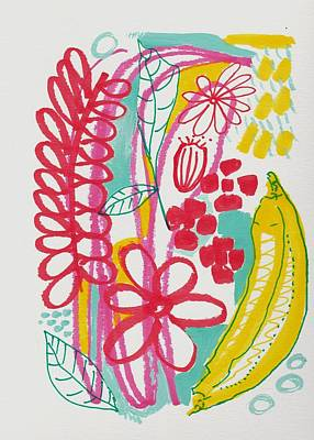 Fruit Abstract Art Print
