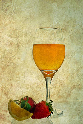 Fruit And Drink Art Print