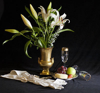 Art Print featuring the photograph Fruit And Flowers by Rick Hartigan