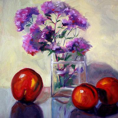 Fruit And Mint Original by Nancy Merkle