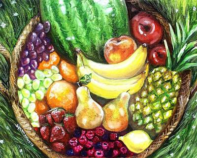 Painting - Fruit Basket by Shana Rowe Jackson