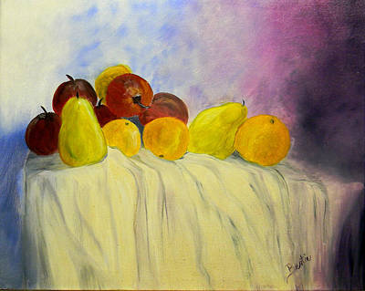 Painting - Fruit by Bertie Edwards