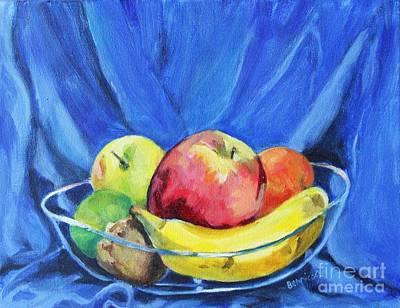 Fruit Bowl Original by Jan Bennicoff