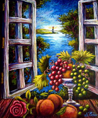 Painting - Fruit By The Bay by Sebastian Pierre