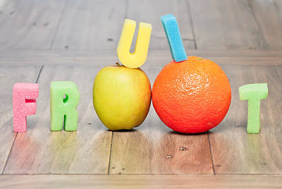 Food And Beverage Royalty-Free and Rights-Managed Images - Fruit concept by Tom Gowanlock