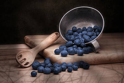 Blueberry Photograph - Fruit Cup Still Life by Tom Mc Nemar