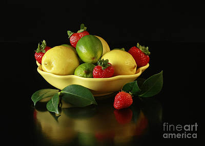 Fruit Explosion Print by Inspired Nature Photography Fine Art Photography