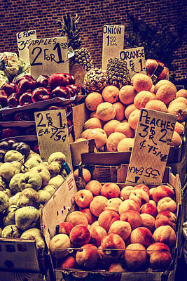 Photograph - Fruit For Sale by Karol Livote