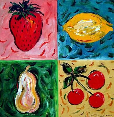Fruit Ll Art Print by Cynthia Hudson