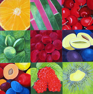 Fruit Medley Original by Toni Silber-Delerive