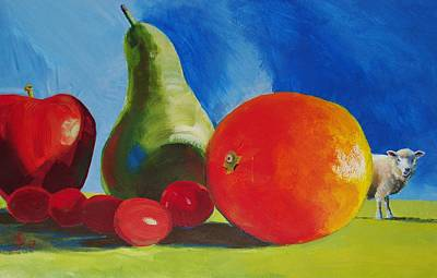 Painting - Fruit by Mike Jory