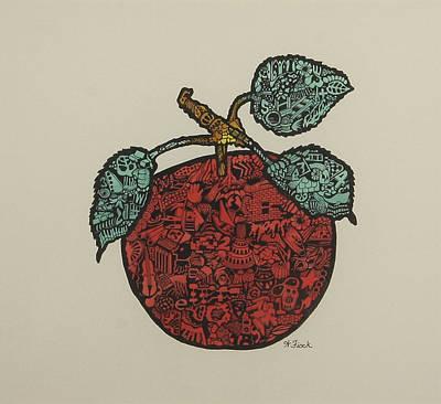 Drawing - Fruit Of Plenty by Wendell Fiock
