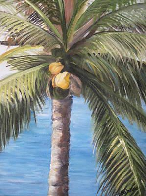 Fruit Of The Palm Art Print by Roberta Rotunda