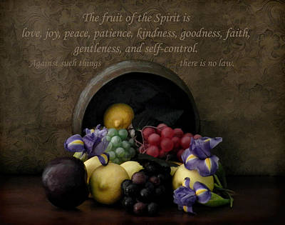 Photograph - Fruit Of The Spirit by Grace Dillon
