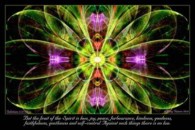 Digital Art - Fruit Of The Spirit by Missy Gainer