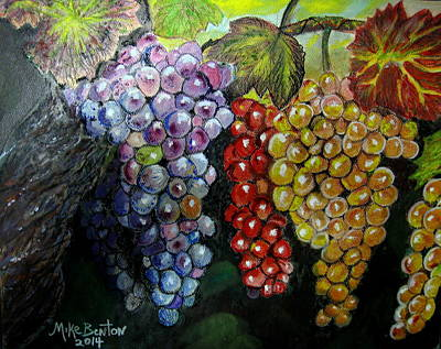 Pastel - Fruit Of The Vine by Mike Benton