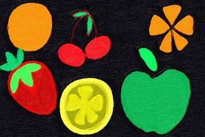 Watermelon Mixed Media - Fruit by Phillip J Gordon