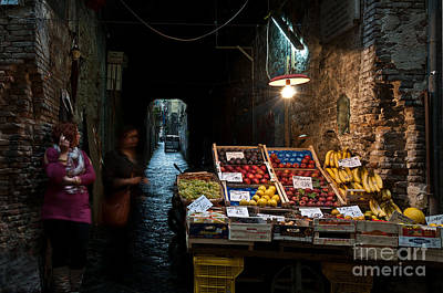 Photograph - Fruit Stall by Marion Galt
