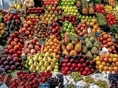 Photograph - Fruit Stand by Jim DeLillo