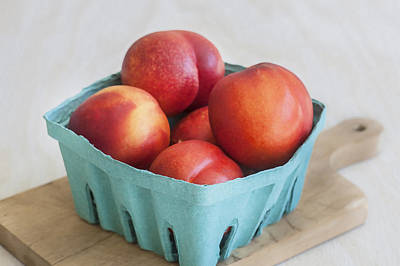 Photograph - Fruit Stand Nectarines by Rich Franco