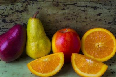 Fruit Still Life Print by Garry Gay