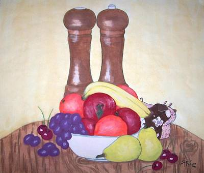 Painting - Fruit Table by Susan Turner Soulis