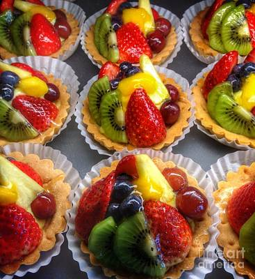 Photograph - Fruit Tart Dessert  by Susan Garren