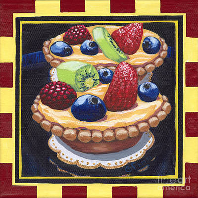 Painting - Fruit Tart by Gail Finn