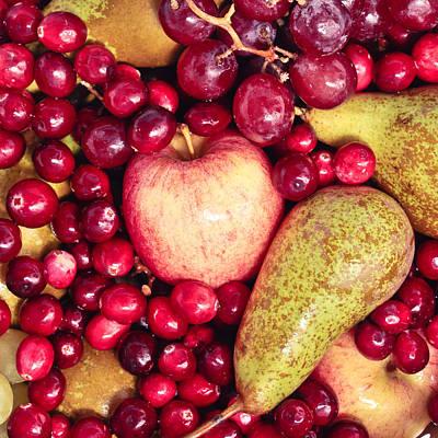 Fruit Art Print by Tom Gowanlock
