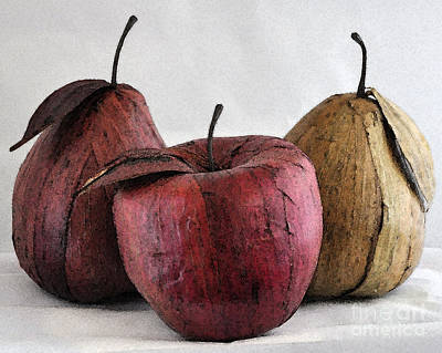 Digital Art - Fruit Trio by Kirt Tisdale