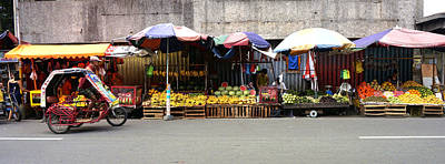 Photograph - Fruit Vendors Manila Philippines by Ron Roberts