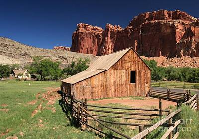 Photograph - Fruita Barn by Adam Jewell