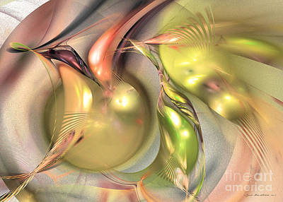 Digital Art - Fruitful - Abstract Art by Sipo Liimatainen