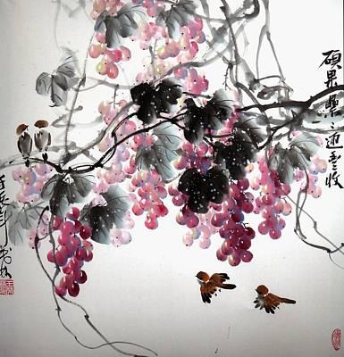 Fruitfull Size 3 Art Print by Mao Lin Wang