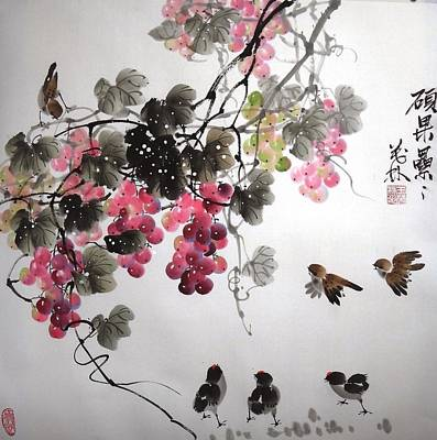 Fruitfull Size 4 Art Print by Mao Lin Wang