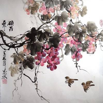Fruitfull Size 5 Art Print by Mao Lin Wang