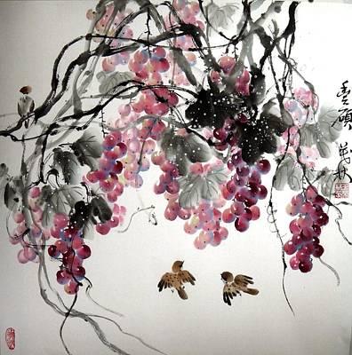 Fruitfull Size Art Print by Mao Lin Wang