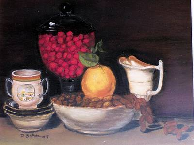 Painting - Fruits And Nuts by Debbie Baker