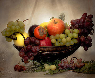 Photograph - Fruits by Anna Rumiantseva