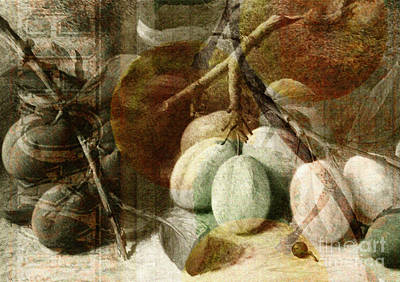 Fruits Background Art Print by Art World
