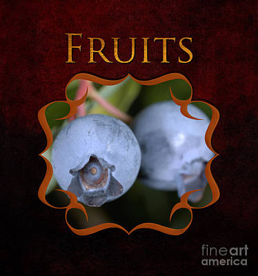Fruits Gallery Art Print