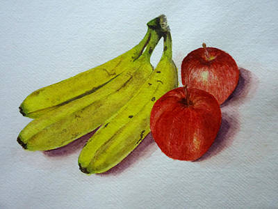 Painting - Fruits by Mickey Raina